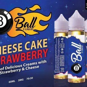 8 ball CHEESE CAKE STRAWBERRY